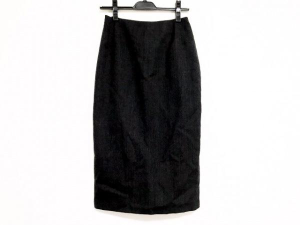 JOHN GALLIANO(ジョンガリアーノ) ロングスカート サイズ38 M レディース美品  グレー