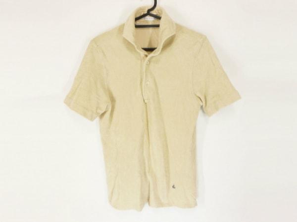 Guy Rover(ギローバー) 半袖ポロシャツ サイズXS メンズ美品  アイボリー