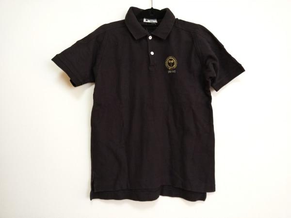 PICONE(ピッコーネ) 半袖ポロシャツ レディース 黒