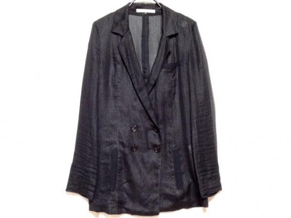 アンシャントマン ジャケット サイズ38 M レディース 黒 シースルー