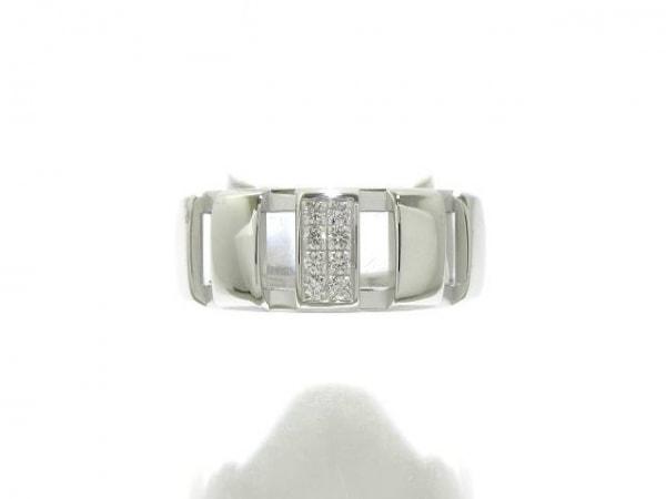 CHAUMET(ショーメ) リング新品同様  クラスワン K18WG×ダイヤモンド 8Pダイヤ
