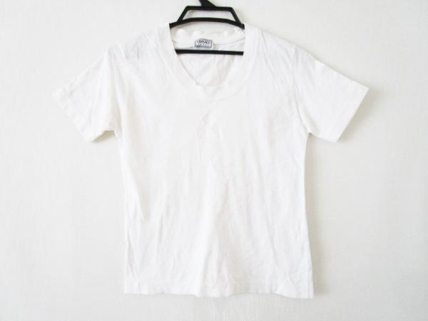 VERSACE SPORT(ヴェルサーチスポーツ) 半袖Tシャツ サイズ42 L レディース 白 刺繍