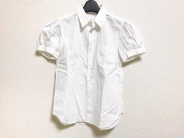 コムデギャルソンシャツ 半袖シャツブラウス サイズXS レディース美品  白
