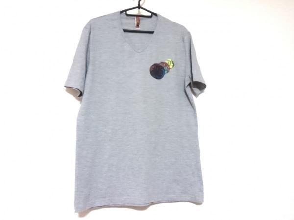 JOHN GALLIANO(ジョンガリアーノ) 半袖Tシャツ サイズL (USA) メンズ グレー
