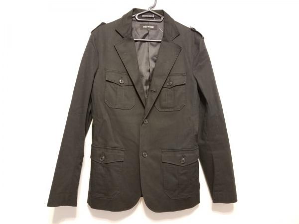 イネドオム コート サイズ2 M メンズ 黒