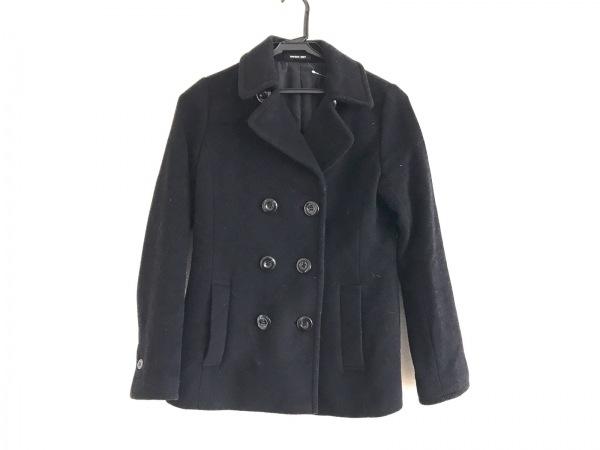 MAYSON GREY(メイソングレイ) Pコート サイズ2 M レディース 黒 冬物