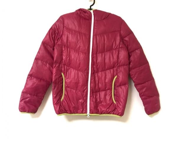 ニコルクラブ ダウンジャケット サイズ38 M レディース美品  ピンク×ライトグリーン