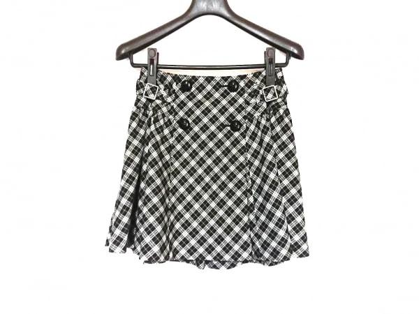 バーバリーブルーレーベル 巻きスカート