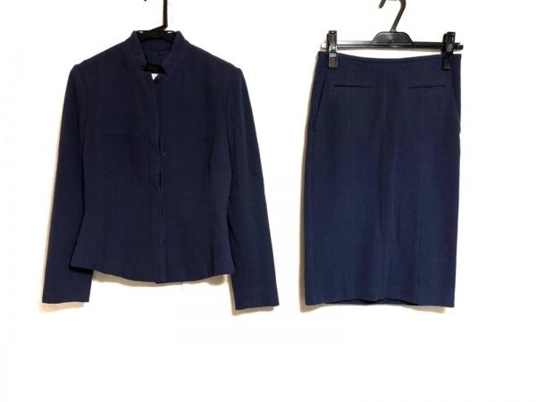 ナルシソロドリゲス スカートスーツ ブルー