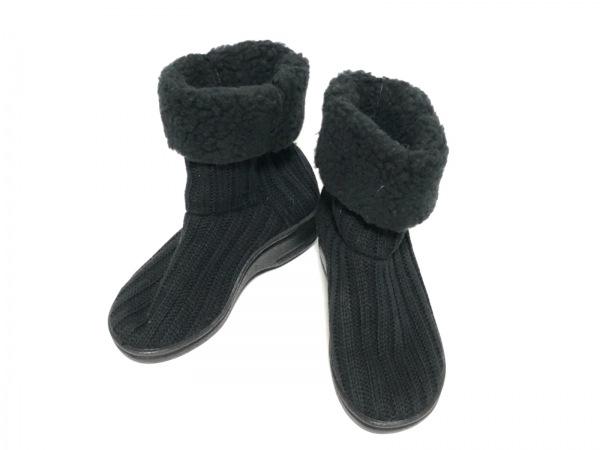 アルコペディコ ショートブーツ 36美品  黒
