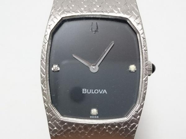 ブローバ 腕時計美品  N8 レディース 黒