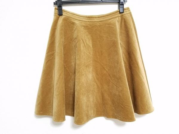 トゥモローランド スカート サイズ38 M レディース ブラウン 2
