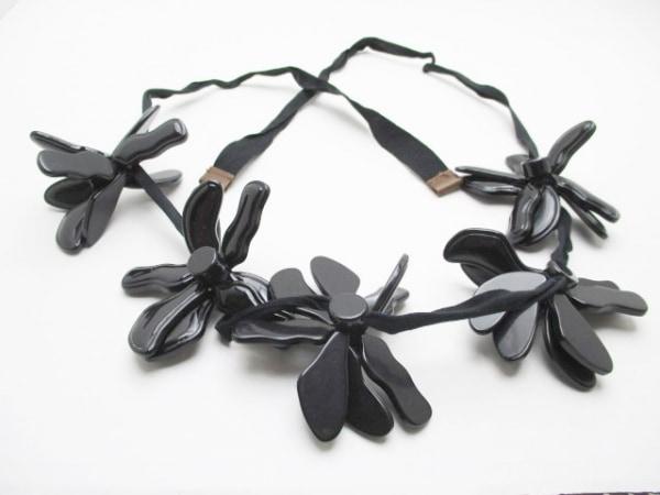MARNI(マルニ) ベルト 黒 プラスチック×化学繊維