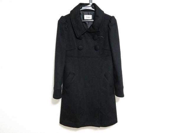 キスミス コート サイズ35 レディース 黒