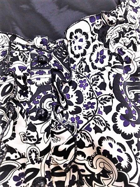 ReFLEcT(リフレクト) ワンピース レディース美品  白×黒×パープル 6