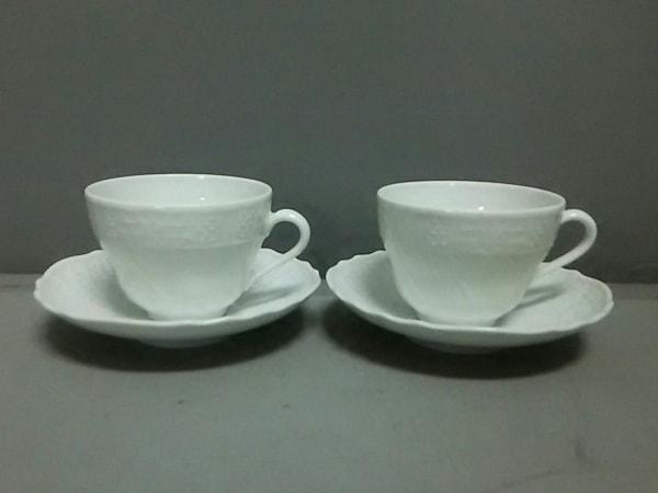 HUTSCHENREUTHER(フッチェンロイター) カップ&ソーサー新品同様  白 陶器
