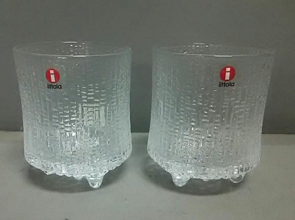 iittala(イッタラ) ペアグラス新品同様  クリア ガラス
