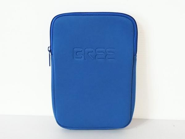 BREE(ブリー) ポーチ ブルー 化学繊維