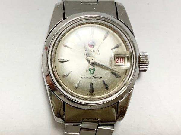 RADO(ラドー) 腕時計 グリーンホース 759 レディース シルバー