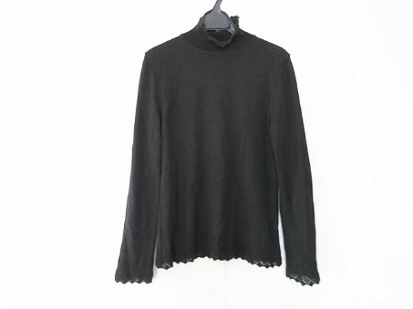 インゲボルグ 長袖セーター サイズ11 M 黒