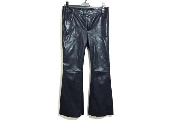 DROMe(ドローム) パンツ サイズS レディース 黒 レザー
