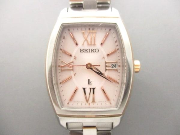 セイコー 腕時計美品  ルキア 1B22-0AZ0