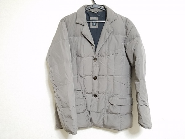 eleventy(イレブンティ) ダウンジャケット サイズS メンズ美品  グレー 冬物
