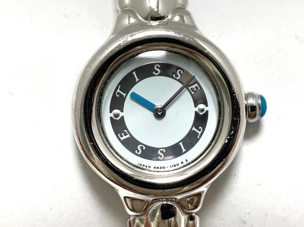 SEIKO(セイコー) 腕時計 Tisse 4N20-0660 レディース ライトブルー×シルバー