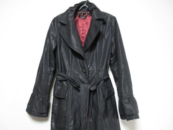 ネロ/センソユニコ コート サイズ40 M 黒