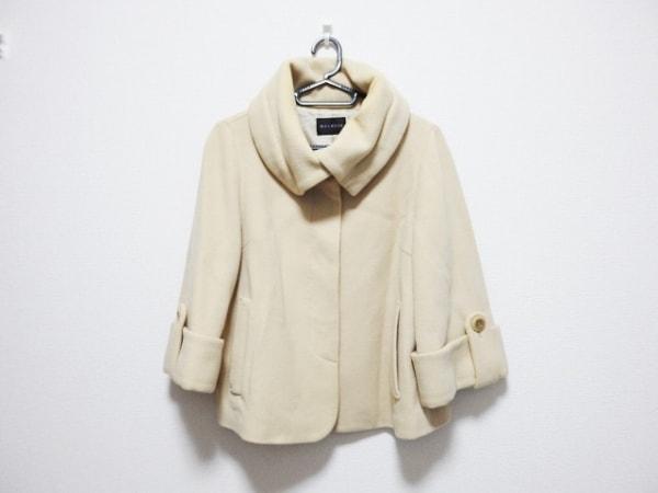 MELROSE(メルローズ) コート サイズ3 L レディース アイボリー 冬物/ショート丈