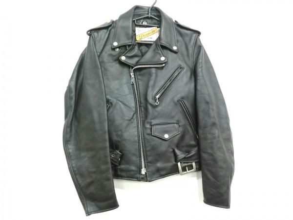 schott(ショット) ライダースジャケット サイズ34 S メンズ美品  黒