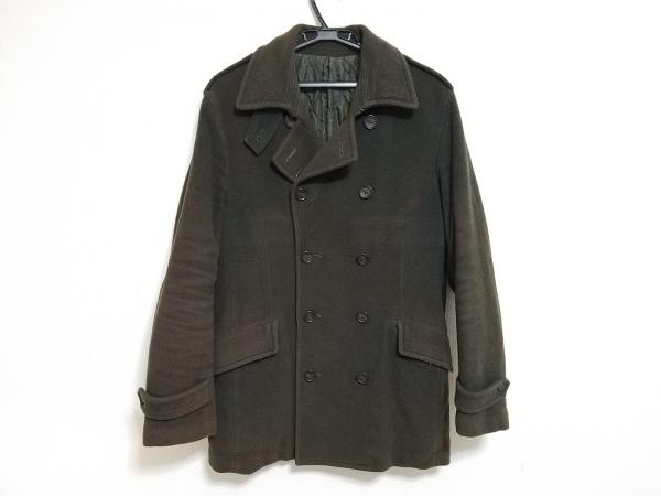 インターナショナルギャラリービームス コート サイズ46 XL メンズ カーキ 冬物