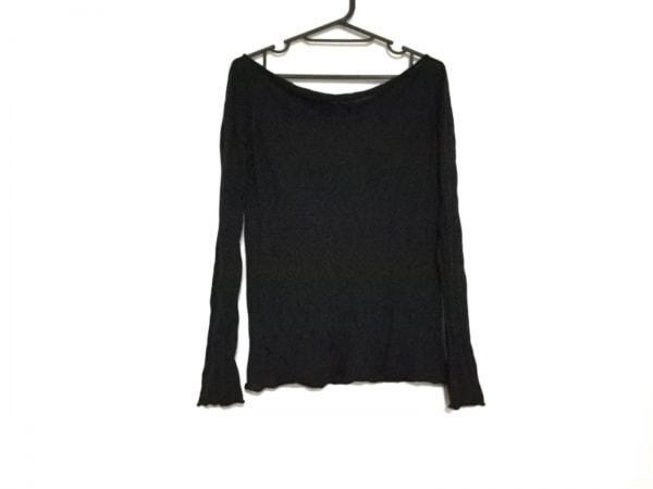 ダナキャランシグネチャー 長袖セーター サイズXS レディース 黒