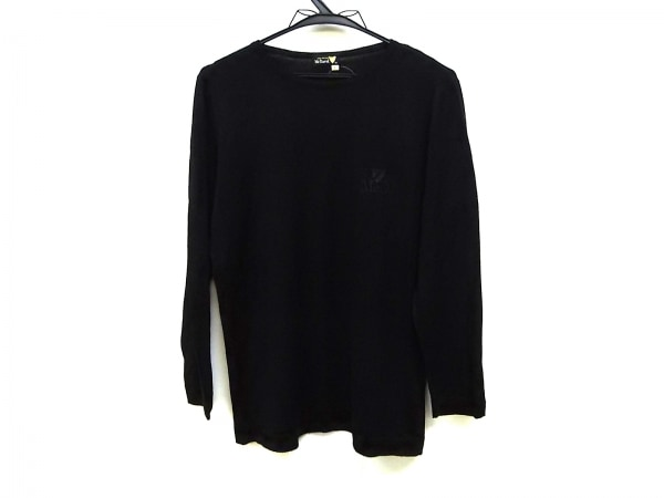 McDavid(マックデイビッド) 長袖セーター サイズL レディース 黒 薄手/刺繍