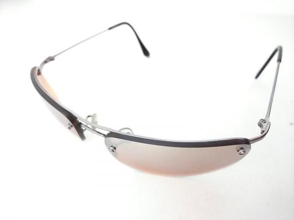 Ray-Ban(レイバン) サングラス RB3156 シルバー×ブラウン 金属素材×プラスチック