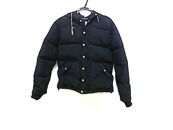【中古】 アメリカンラグシー AMERICAN RAG CIE ダウンジャケット サイズS メンズ 黒 冬物