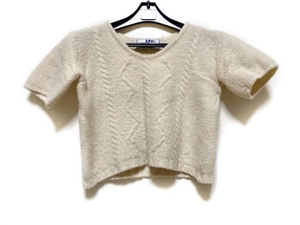 ジョンモロイ 半袖セーター レディース