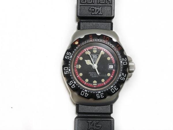 TAG Heuer(タグホイヤー) 腕時計美品  プロフェッショナル200 WA1414 レディース 黒