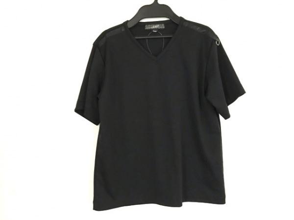 GAULTIERHOMMEobjet(ゴルチエオム オブジェ) 半袖カットソー サイズF メンズ 黒
