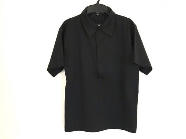 ゴルチエオム オブジェ 半袖カットソー サイズF メンズ 黒 ジップアップ