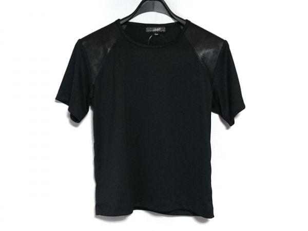 GAULTIERHOMMEobjet(ゴルチエオム オブジェ) 半袖カットソー サイズfree F メンズ 黒