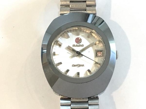 RADO(ラドー) 腕時計 ダイアスター - メンズ シルバー