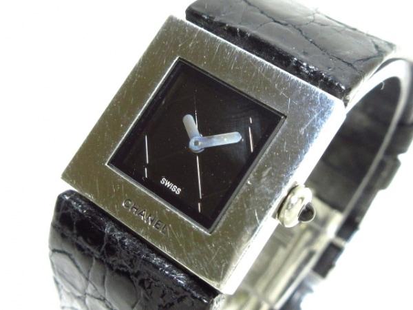 シャネル 腕時計 マトラッセ H0118 黒