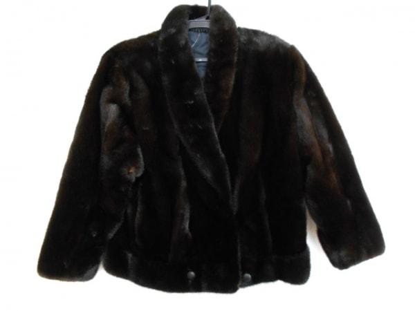 Blackglama(ブラックグラマ) コート サイズ11 M レディース美品  ダークブラウン
