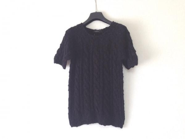 インゲボルグ 半袖セーター サイズM 黒