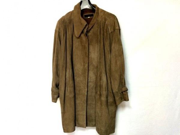 クリスチャンオジャール コート サイズ9Y3 レディース美品  ブラウン 冬物
