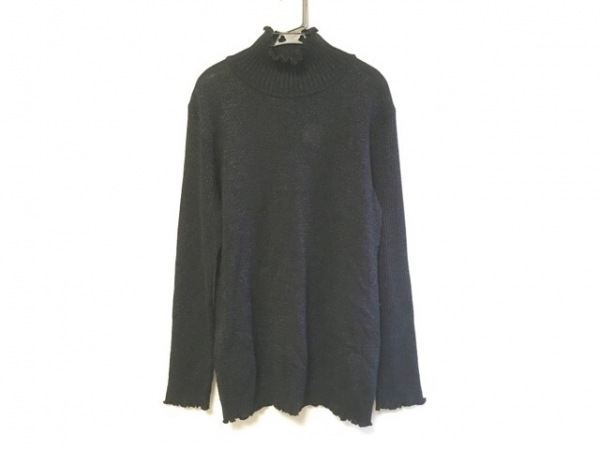 ポテチーノ 長袖セーター レディース 黒