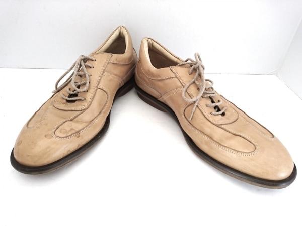around the shoes(アラウンドザシューズ) シューズ 40 メンズ ライトブラウン レザー