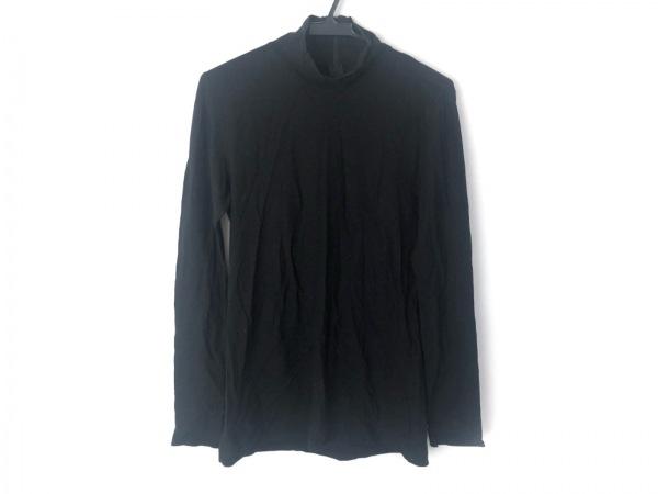 HaaT HeaRT(ハート) 長袖ポロシャツ サイズ2 M レディース美品  黒 ジップアップ