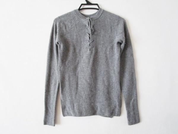 AURALEE(オーラリー) 長袖セーター サイズ1 S レディース グレー